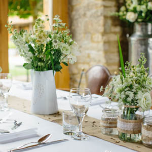 wedding flowers buckinghamshire - reception flowers
