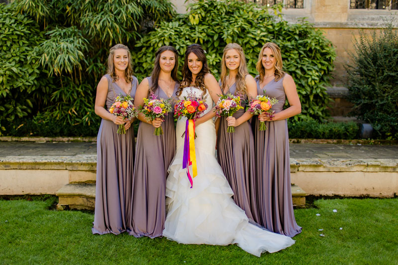 Rushton Hall Wedding Flowers