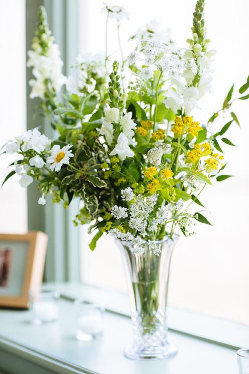 Woburn Sculpture Gallery wedding florist