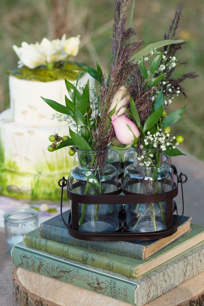 natural wedding flowers inspiration from Field Gate Flowers