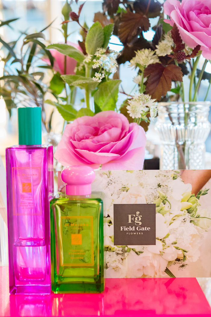 scented british flowers from Field Gate flowers in collaboration with Jo Malone