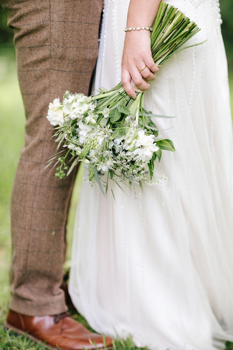 MK wedding florist Fieldgate Flowers