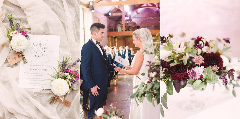 Wedding florist buckinghamshire bedfordshire northamptonshire