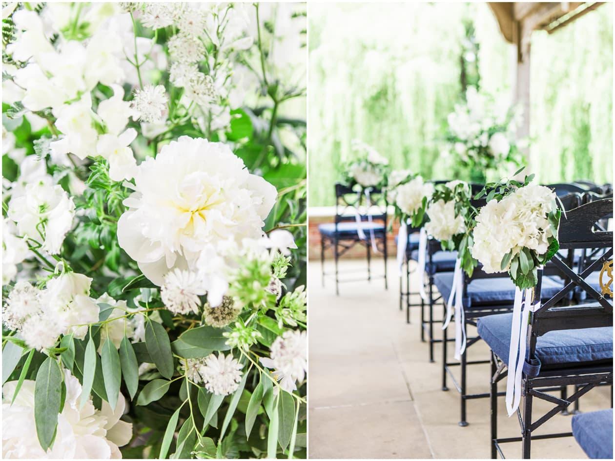 Waddeson Manor Wedding Flowers