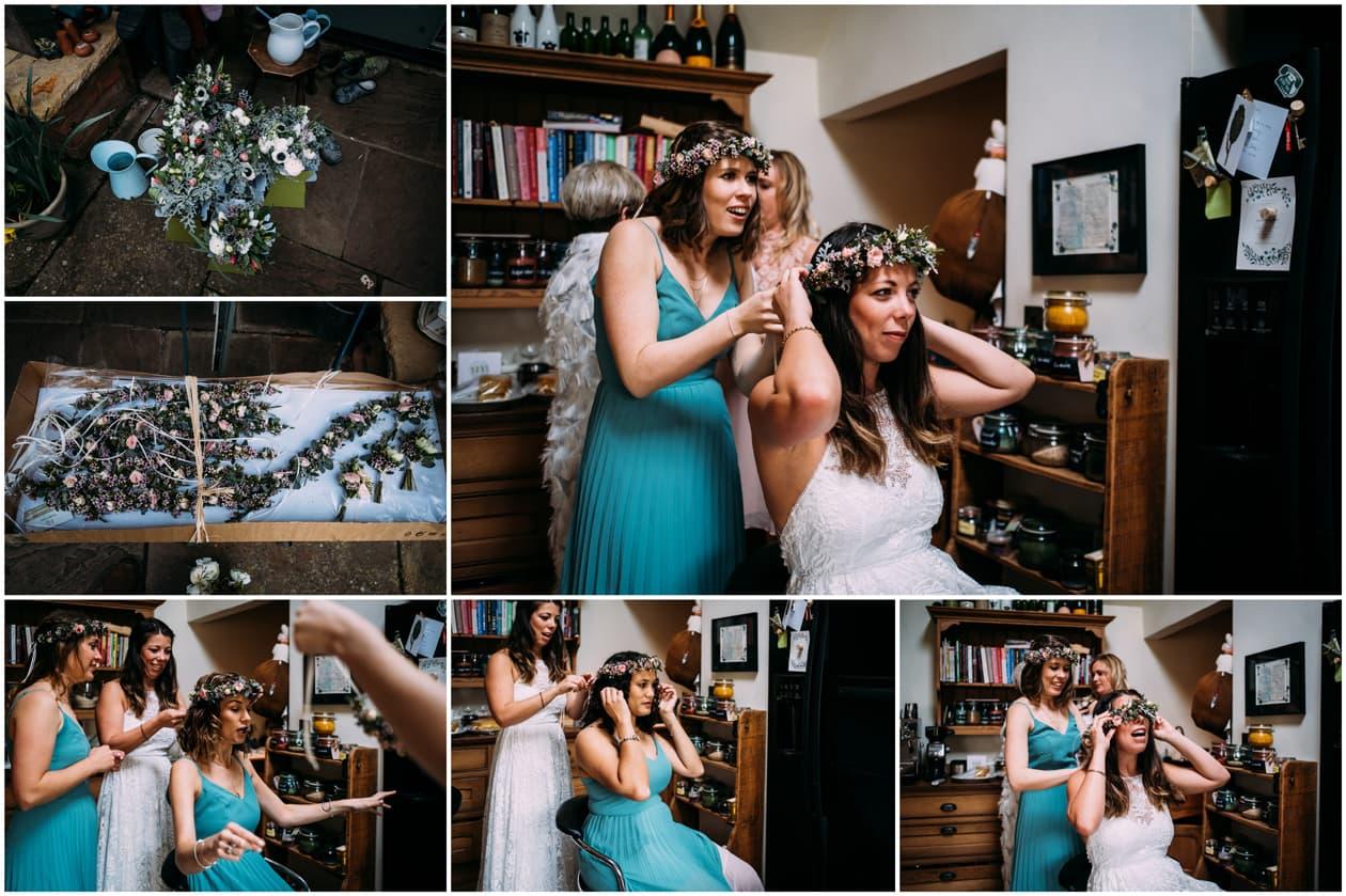 Emberton Church Wedding Flowers