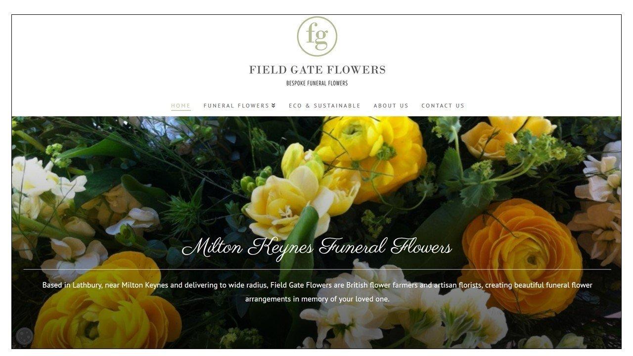 Milton Keynes Funeral Flowers website