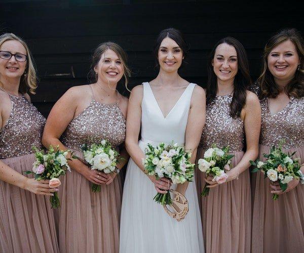 Bridesmaids Flowers Fieldgate Flowers 4