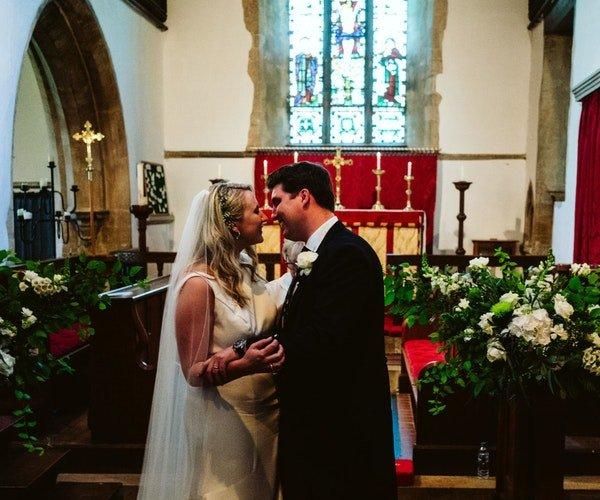 Church Wedding Flowers 2
