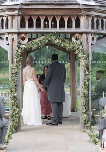Wedding Arches Field Gate Flowers 9