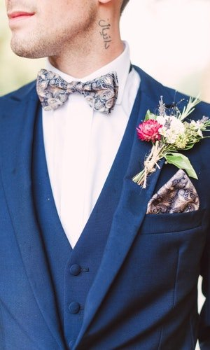 Wedding Buttonholes Field Gate Flowers 14