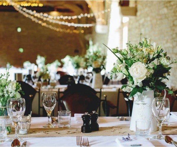 Wedding Centrepieces Field Gate Flowers 1