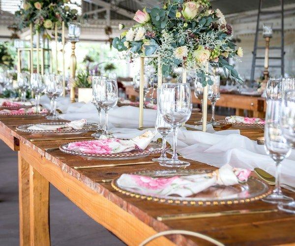 Wedding Centrepieces Field Gate Flowers 12