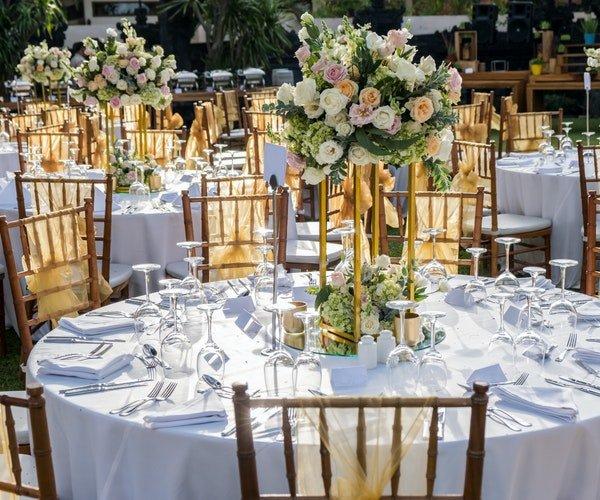 Wedding Centrepieces Field Gate Flowers 14