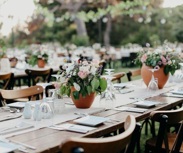 Wedding Centrepieces Field Gate Flowers 15