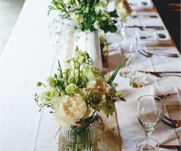 Wedding Centrepieces Field Gate Flowers 16