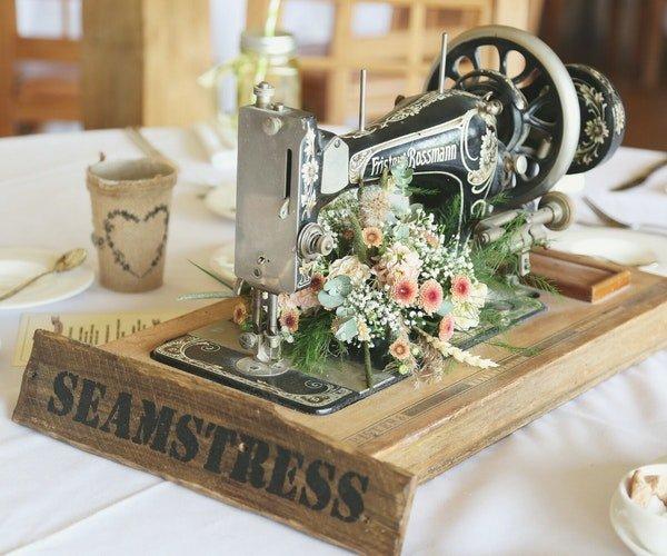 Wedding Centrepieces Field Gate Flowers 3