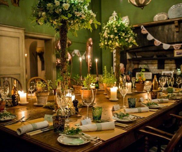 Wedding Centrepieces Field Gate Flowers 4