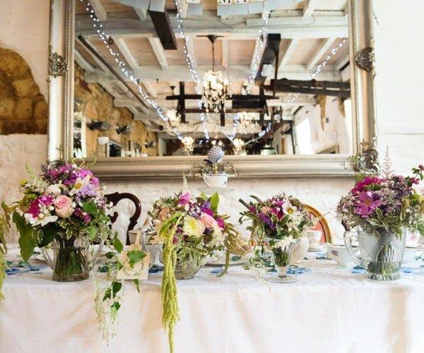 Wedding Centrepieces Field Gate Flowers 7