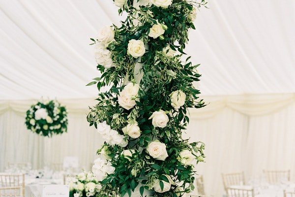 Wedding Marquee Flowers Fieldgate Flowers 4