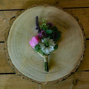 Wedding Flowers Collection Bright and Beautiful Buttonhole 1