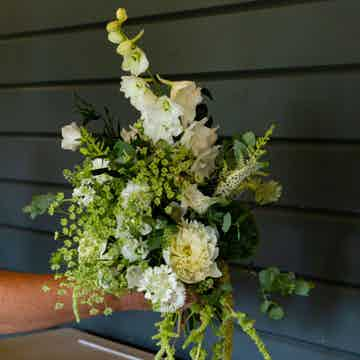 Wedding Flowers Collection Green and Glorious