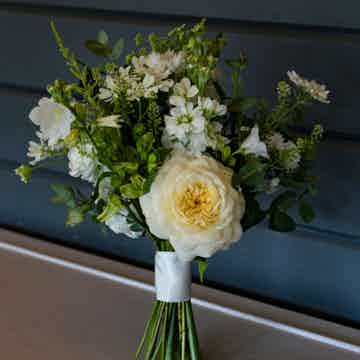 Wedding Flowers Collection Green and Glorious Bridesmaids Bouquet 1