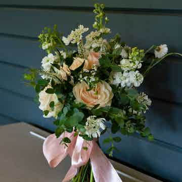 Wedding Flowers Collection Peaceful Pastels Bridal Bouquet 1