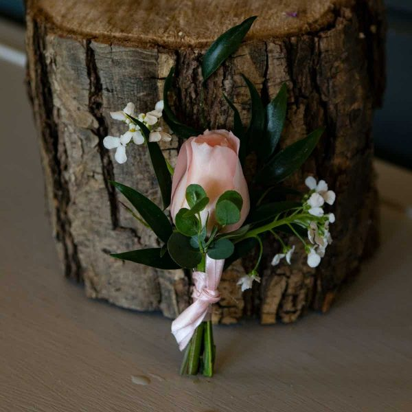 Wedding Flowers Collection Peaceful Pastels Buttonhole